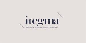 Logo Itegma - branding door Webclix Bonheiden